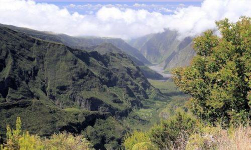 Zdjęcie REUNION / góry na wyspie / w głębi lądu / Canion