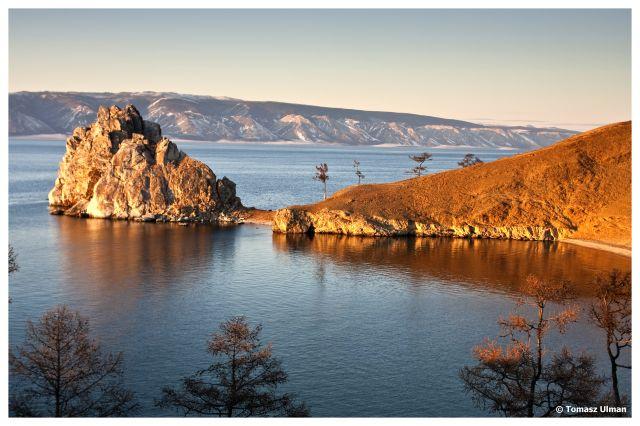 Zdj�cia: Wyspa Olkhon, Syberia, Ska�a Szamana, ROSJA