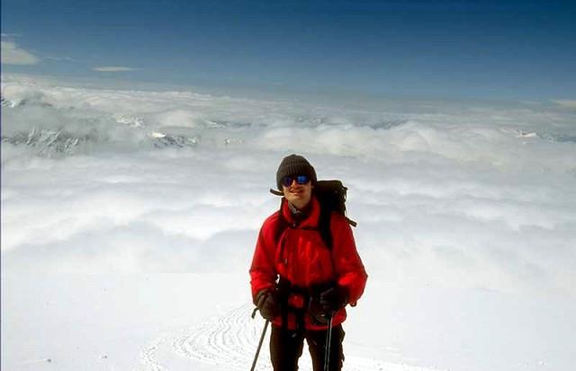 Zdjęcia: Kaukaz, Kaukaz, Ponad chmurami (ok 4600mnpm), ROSJA