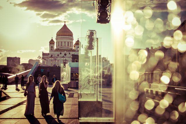 Zdjęcia: Moskwa, Sobór Zbawiciela, ROSJA
