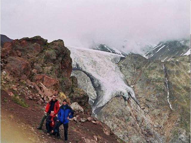 Zdjęcia: Elbrus, Kaukaz, Na spacerach aklimatyzacyjnych, ROSJA