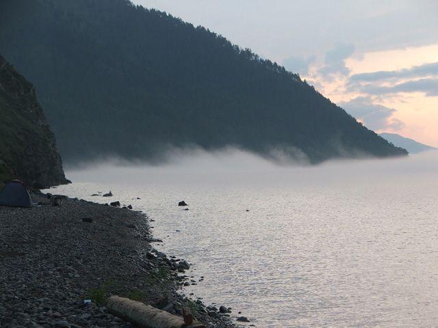 Zdjęcia: Bajkał, Syberia, Bajkał o wschodzie słońca, ROSJA