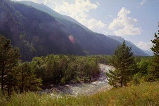 Zdjęcia: Amińskij Kurort, Góry Barguzińskie, Góry Barguzińskie, ROSJA