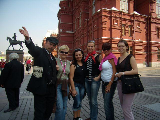 Zdj�cia: MOSKWA, A JEDNAK LENIN ZYJE, ROSJA