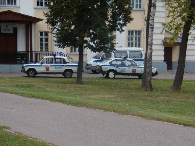 Zdjęcia: MOSKWA, WOZY MILICYJNE, ROSJA