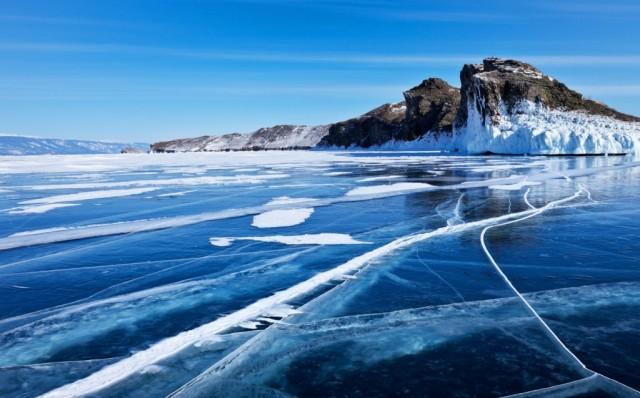 Zdjęcia: ---, ---, Bajkał zimą, ROSJA