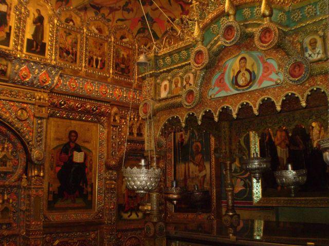 Zdjęcia: moskwa, wnętrze najsłynniejszego chramu w moskwie, ROSJA