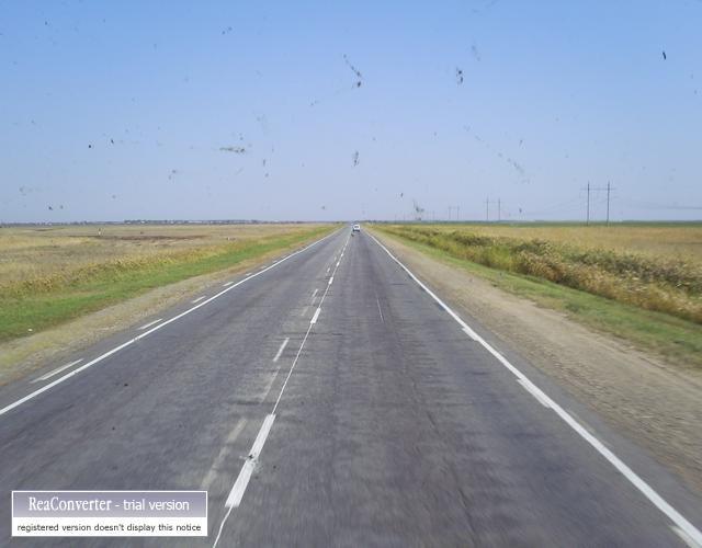 Zdjęcia: między kurganem a granicą z kazachstanem, Droga, ROSJA