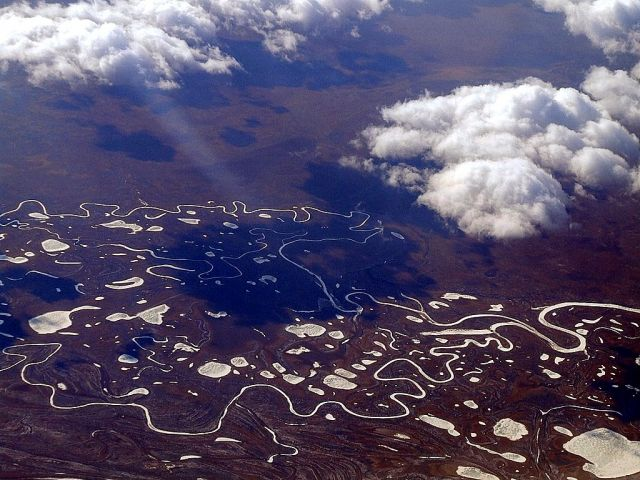 Zdjęcia: Północna Rosja, Północna Rosja, Z lotu ptaka, ROSJA
