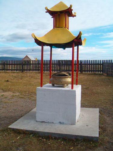 Zdjęcia: Buriacja, Klasztor Buddyjski w Iwołginsku, ROSJA