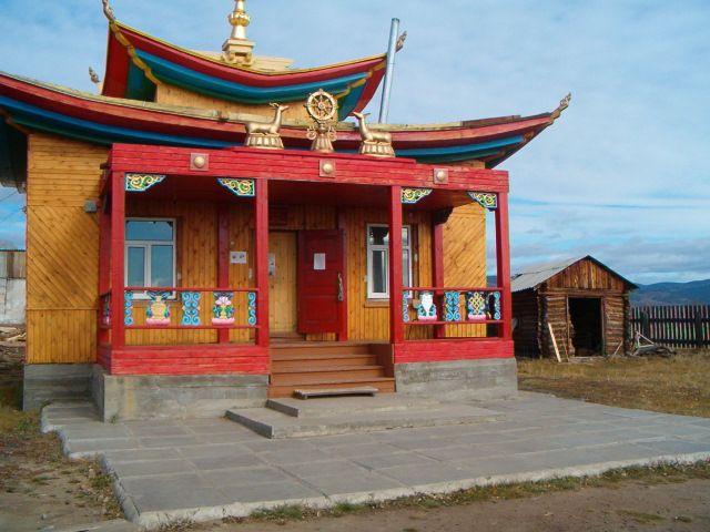 Zdj�cia: Buriacja, Klasztor Buddyjski w Iwo�gi�sku, ROSJA