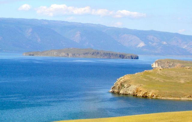 Zdjęcia: Wyspa Olchon, Syberia, Bajkał  błękitny, ROSJA