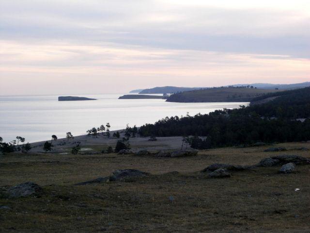 Zdjęcia: Wyspa Olchon, Syberia, Bajkał o świcie, ROSJA