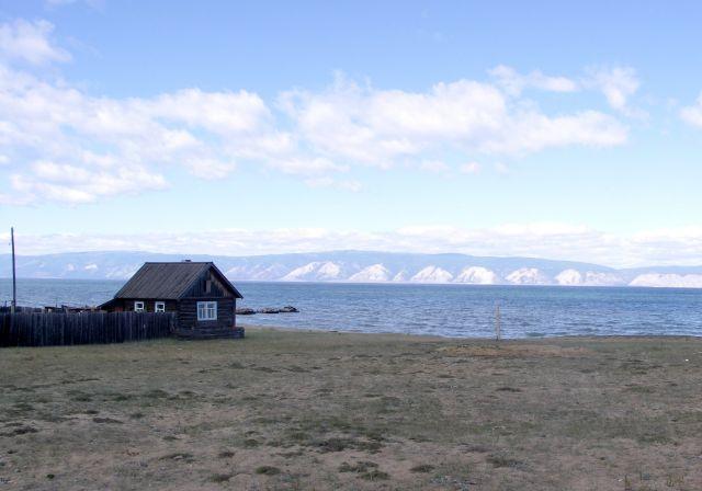 Zdjęcia: Wyspa Olchon, Syberia, Bajkał-buriacka chata, ROSJA