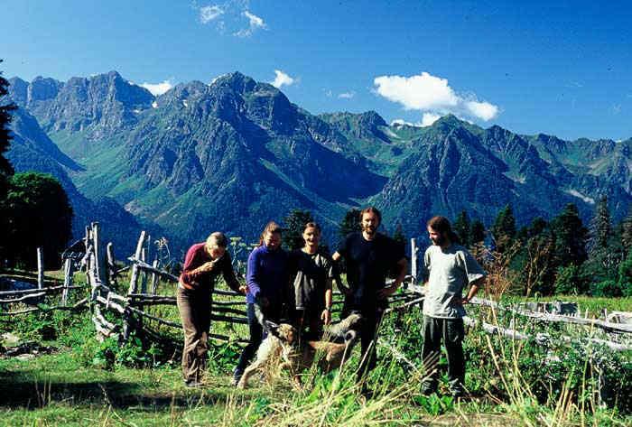 Zdjęcia: Kaukaz, Kaukaz, Ekipa w komplecie, ROSJA