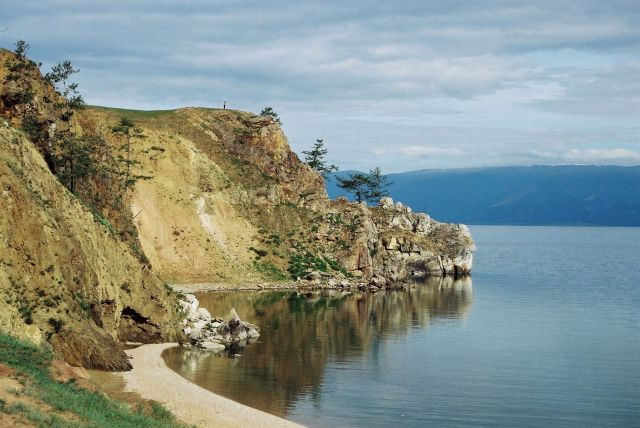 Zdj�cia: wyspa Olchon, okolice Chu�yru, Syberia, Brzeg Bajka�u, ROSJA