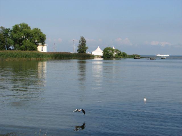 Zdjęcia: Peterhof, ZATOKA FIŃSKA, zatoczka, ROSJA