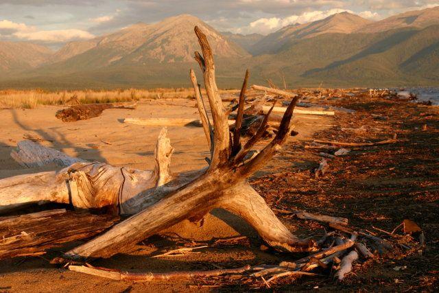 Zdjęcia: Delta Górnej Angary, Zabajkale, Dogasający dzień, ROSJA