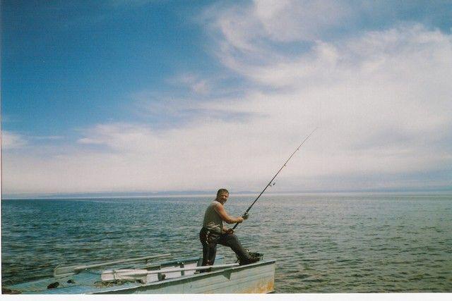 Zdjęcia: Bajkał, Syberia, Wielki połów, ROSJA