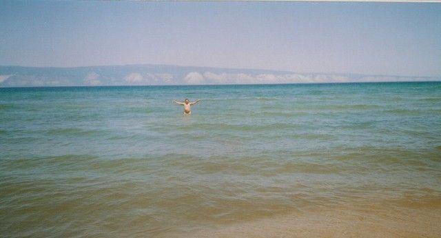 Zdjęcia: Bajkał, Syberia, Kąpiel, ROSJA