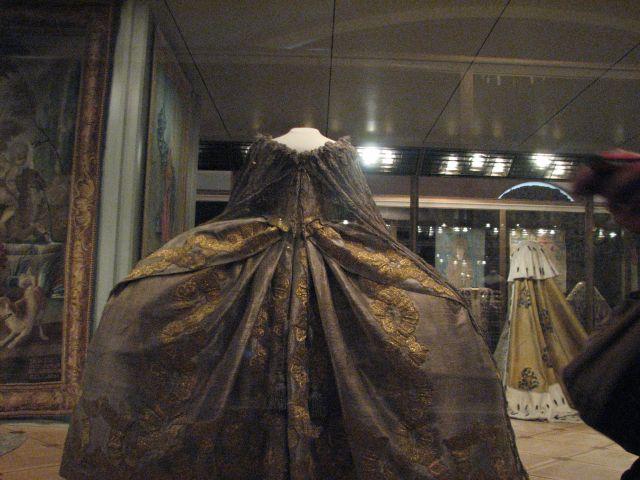 Zdjęcia: muzeum na kremlu, MOSKWA, sukienka Katarzyny II, ROSJA