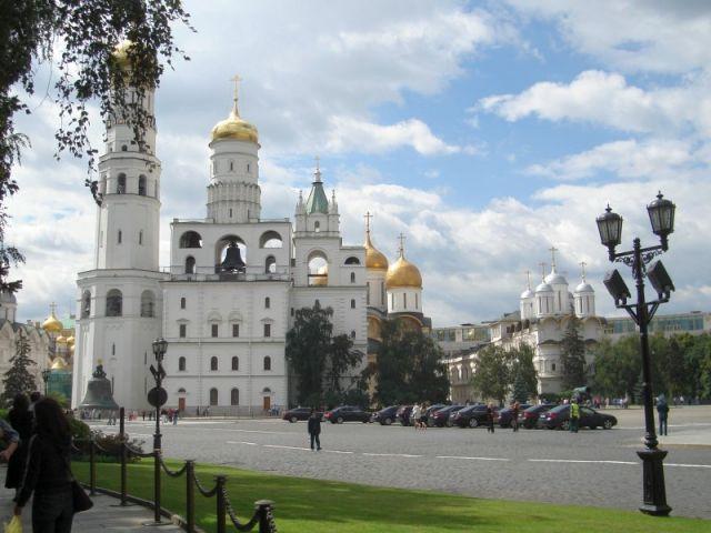 Zdjęcia: Moskwa, Cerkwie Kremla, ROSJA
