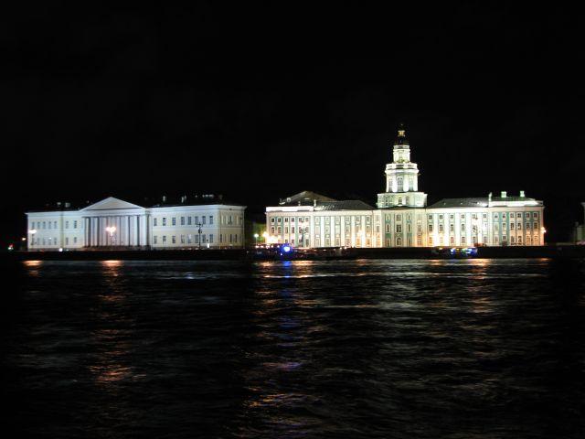 Zdjęcia: Sankt Petersburg, nocą, ROSJA