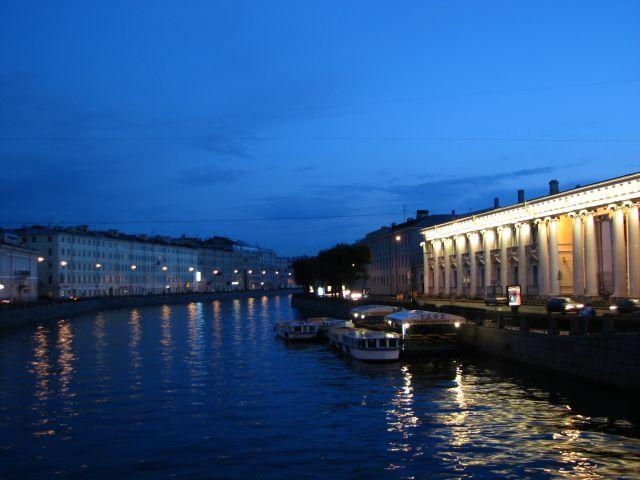 Zdjęcia: Sankt Petersburg, Sankt-Pietierburg, nocą, ROSJA