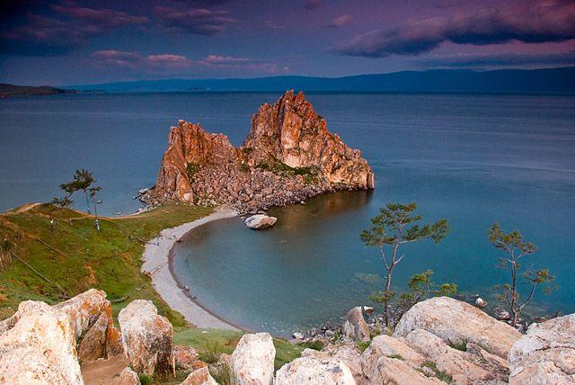 Zdjęcia: Olchon, Syberia, Bajkał, Szamanka, ROSJA