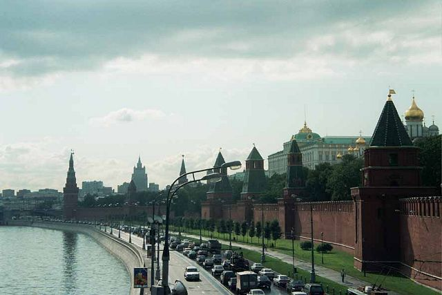 Zdjęcia: Kreml, Jedyne zdjęcie z Moskwy, ROSJA