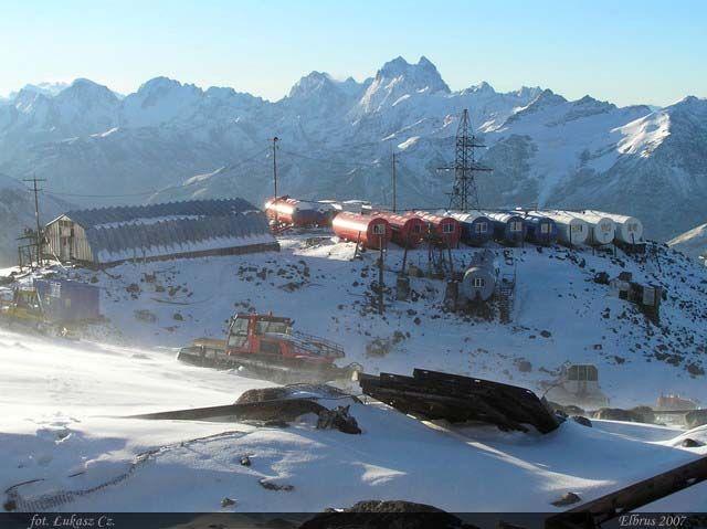 Zdjęcia: Elbrus, Kaukaz, Beczki 3800m, ROSJA