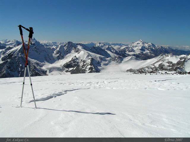 Zdj�cia: Elbrus, Kaukaz, Trzeba i��, ROSJA