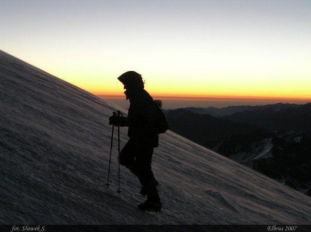 Zdjęcia: Elbrus, Kaukaz, W drodze na 5642, ROSJA