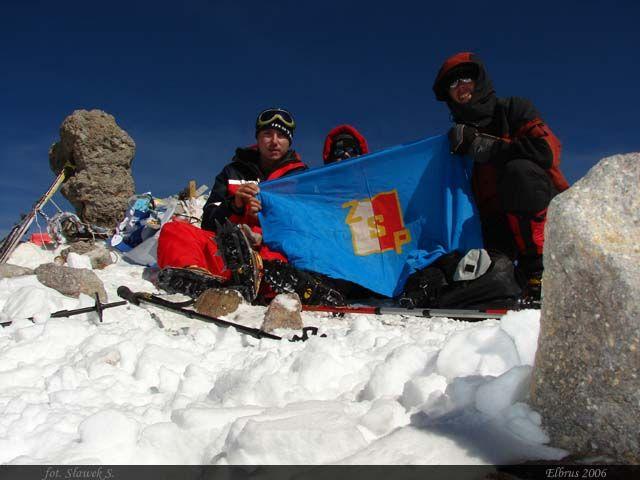 Zdjęcia: Elbrus, Kaukaz, Na szczycie najwyższej góry Rosji, ROSJA