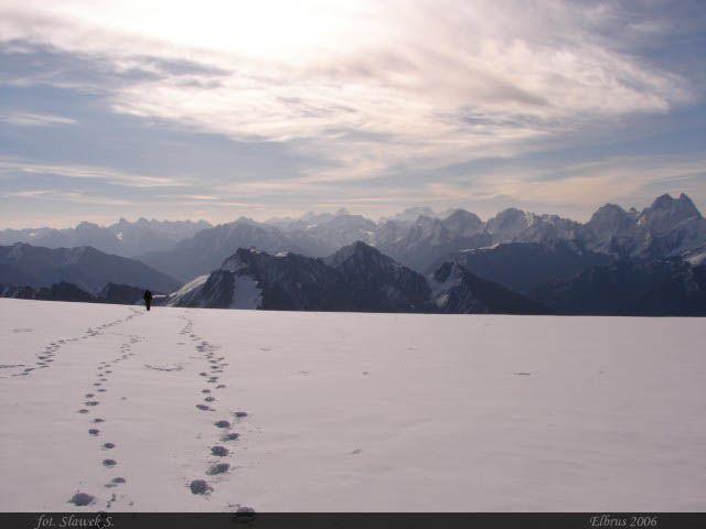 Zdjęcia: Elbrus, Kaukaz, Powrót, ROSJA