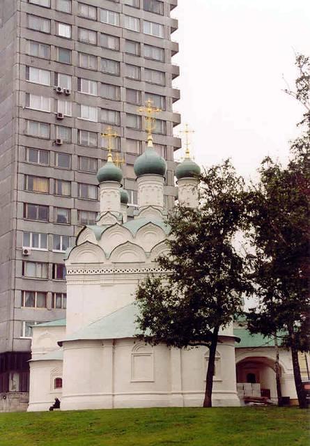 Zdj�cia: Moskwa, Moskiewskie Cerkwie, ROSJA