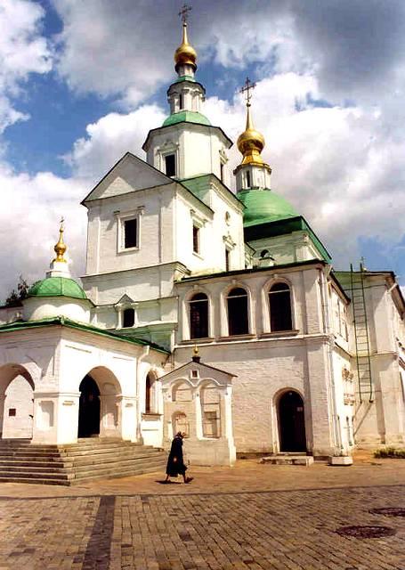 Zdjęcia: Moskwa, Moskiewskie Cerkwie, ROSJA