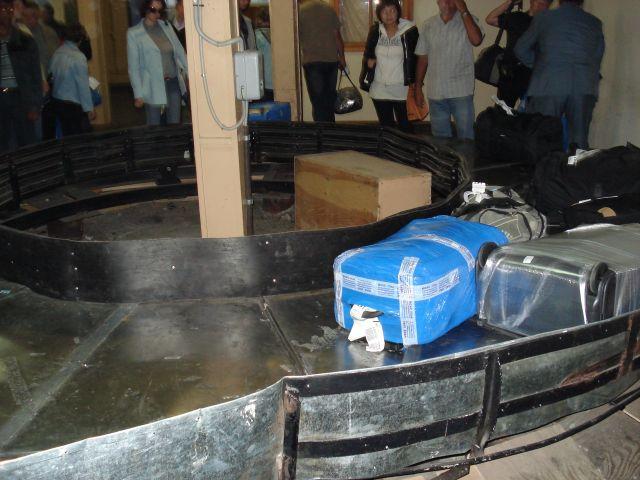 Zdjęcia: Irkuck, Irkucka Oblast, Podajnik do bagażu (rosyjskie klimaty), ROSJA