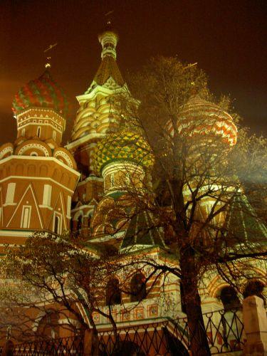 Zdjęcia: Moskwa, Siedziba Wasyla Błogosławionego, ROSJA