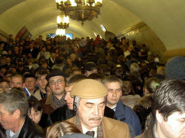 Zdjęcia: Moskwa, Kto pierwszy do domu, ROSJA