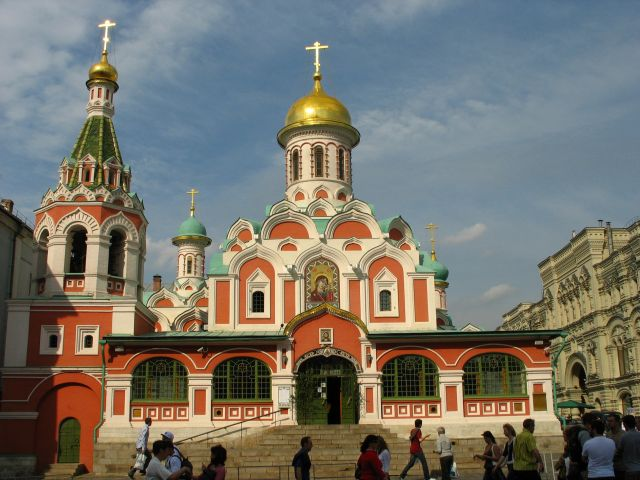 Zdjęcia: Moskwa, Moskwa, cerkiew #2, ROSJA