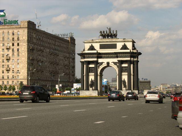 Zdjęcia: Moskwa, Moskwa, Łuk Triumfalny .... ale w Moskwie, ROSJA