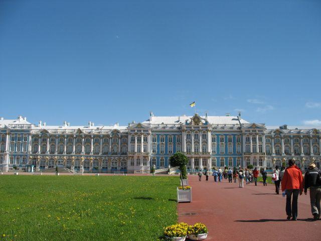 Zdjęcia: Peterhof,jeden z pałaców Piotra Wielkiego, Sankt Petersburg, Peterhof, ROSJA