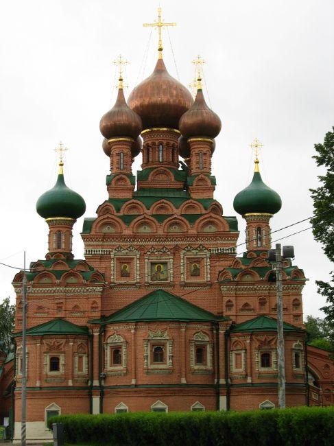 Zdjęcia: Ostankino, Moskwa, cerkiew # 3, ROSJA