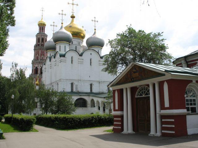 Zdjęcia: klasztor Nowodiewiczy (UNESCO), Moskwa, Nowodiewiczy Monastyr, ROSJA