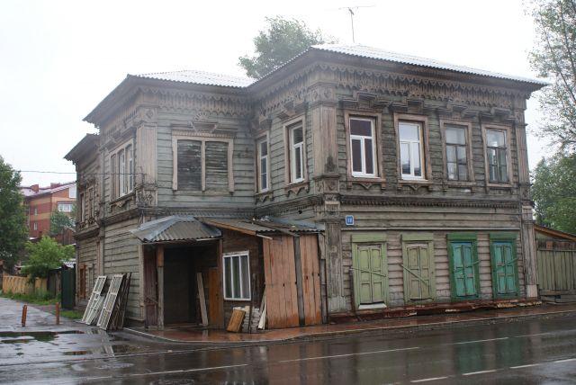 Zdjęcia: Irkuck, Buriacja, Chata w centrum Irkucka, ROSJA