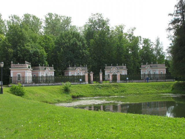 Zdjęcia: park Szeremietiewa. XVIII w., Moskwa, domeczki, ROSJA