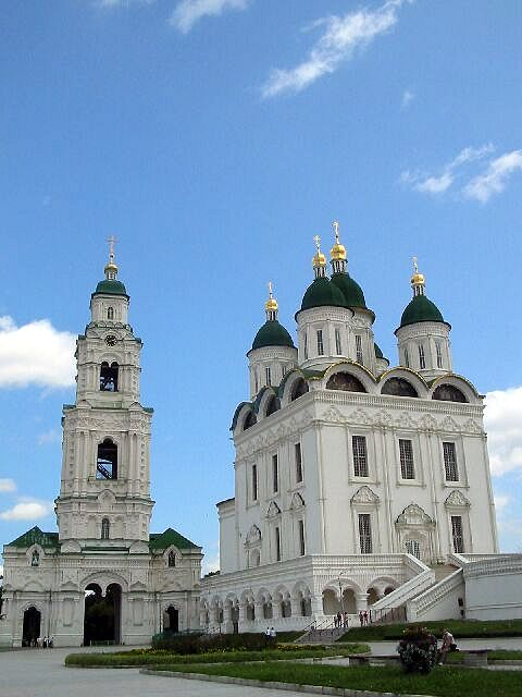 Zdjęcia: Astrachan, Kompleks cerkiewny, ROSJA