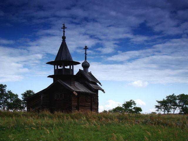 Zdjęcia: Wyspa Kiżi, Karelia, Dawna Rosja - dzisiaj, ROSJA