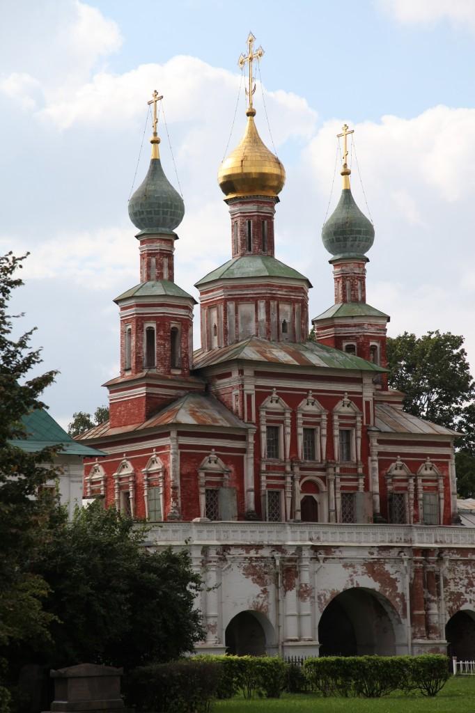 Zdjęcia: Monaster Nowodziewiczy, Moskwa, Sobór Smoleński, ROSJA